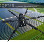 HES Energy Systems lancia un drone multirotore a idrogeno con autonomia di 3 ore