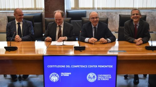 Industria 4.0: costituito il Competence Center Piemontese sull'Advanced Manufacturing