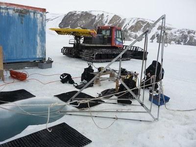 Antartide: un laboratorio sotto i ghiacci marini per studiare i cambiamenti climatici