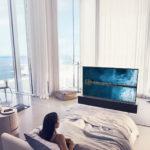 LG svela il primo TV OLED arrotolabile al mondo