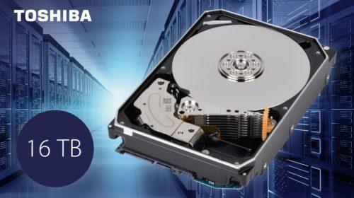 Toshiba presenta i nuovi HDD Enterprise Capacity da 16TB della serie MG08