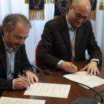 Siglato l'accordo tra il Comune di Pontedera e l'Istituto di Biorobotica della Scuola Superiore Sant'Anna per il consolidamento del Polo Tecnologico