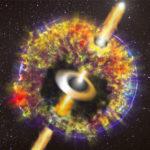 Fotografato il getto relativistico prodotto dalla sorgente GW170817