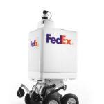 FedEx presenta un robot di consegna autonoma
