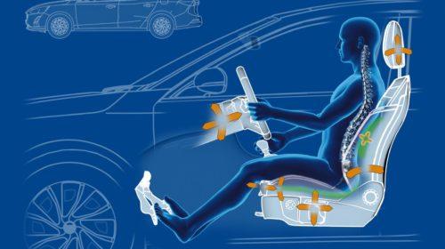 Massima ergonomia per i sedili della nuova Ford Focus