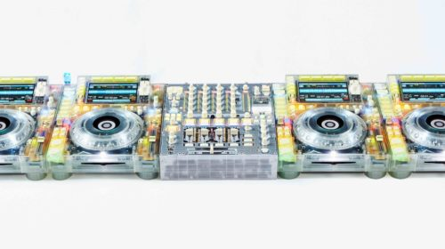 Pioneer DJ: collaborazione con Virgil Abloh per la console Skeleton NXS2