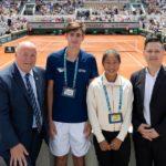 """OPPO premia due finalisti junior del tennis con il premio """"Junior Wild Card Series by OPPO"""" al Roland-Garros"""