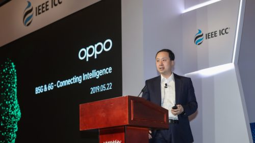 OPPO anticipa la sua visione del 6G e il futuro dell'intelligenza connessa alla IEEE International Conference on Communications 2019