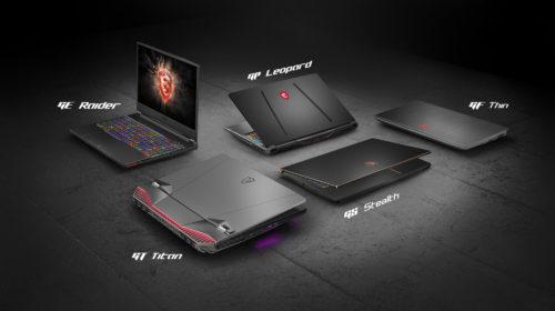 MSI annuncia le novità in ambito laptop presentate a Computex 2019