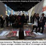 La Resurrezione di Cristo del Mantegna rivive nell'esperienza immersiva realizzata con i proiettori Epson