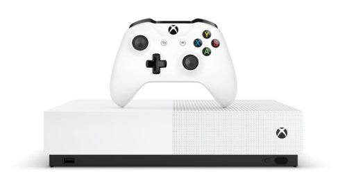 Arriva sul mercato italiano Xbox One S All-Digital Edition