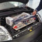 Adler presenta un prototipo alimento da fuel cell