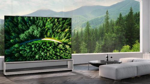 LG annuncia l'inizio delle vendite in Corea del Sud del primo TV Oled  8K