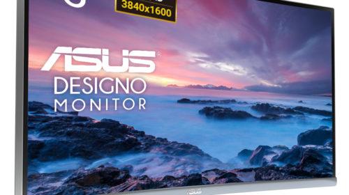 ASUS annuncia il monitor Designo Curve MX38VC