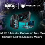 Ubisoft dà il via a una stagione della Tom Clancy's Raimbow Six Pro League con la sponsorizzazione di Acer Predator