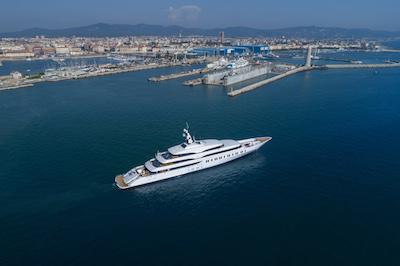 Benetti consegna il primo yacht dell'iconica Benetti Giga Season