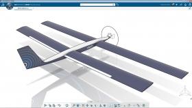 Da 3DEXPERIENCE Lab di Dassault Systèmes arriva il primo prototipo di velivolo a guida autonoma a energia solare