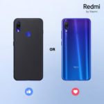 Redmi Note 7 nella colorazione Moonlight White disponibile in Italia