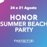Al via l'HONOR Summer Beach Party