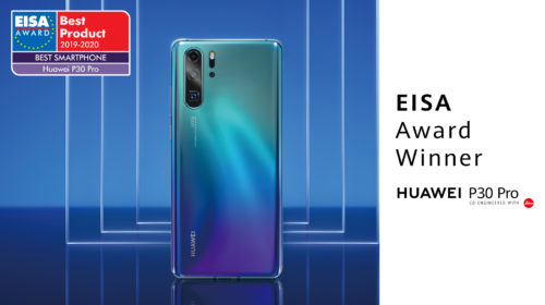 """Huawei vince il premio EISA """"Best Smartphone of the Year"""""""