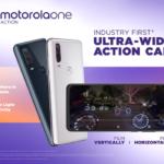 motorola one action: la prima action camera ultra-grandangolare del settore
