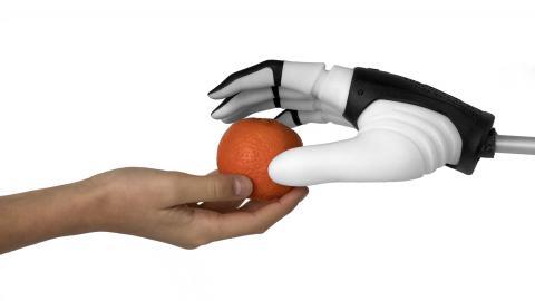 Una nuova filosofia robotica per facilitare la presa di un oggetto da parte di un robot