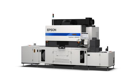 SurePress L-6534VW di Epson si presenta a Labelexpo