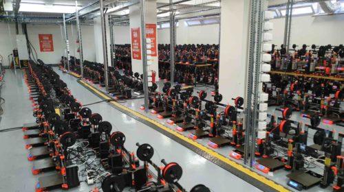 1.096 stampanti 3D Original Prusa i3 stabiliscono un nuovo titolo Guinness World Record