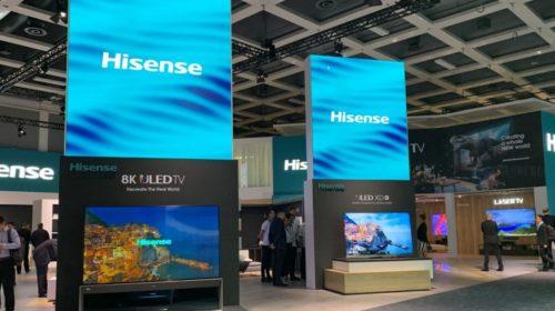 IFA 2019: Hisense punta sull'immagine con risoluzione 8k