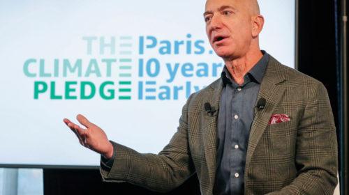 """Amazon co-fonda """"The Climate Plegde"""" per raggiungere i risultati dell'Accordo di Parigi con 10 anni di anticipo"""