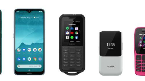 HMD Global annuncia cinque nuovi telefoni
