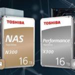 IFA 2019: Toshiba amplia le serie di hard disk N300 e X300 con i modelli da 16 TB