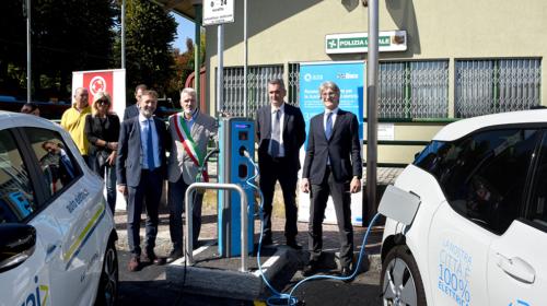 Rovato: inaugurata la nuova rete di ricarica per veicoli elettrici