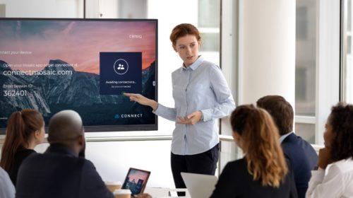 NEC lancia la serie CB all-in-one per presentazioni wireless