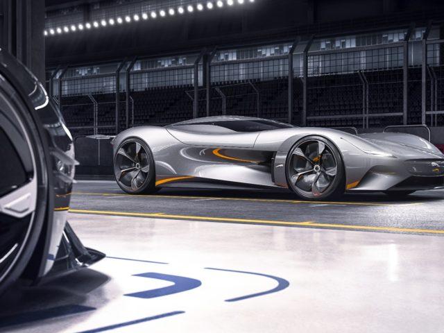 Jaguar progetta la Vision Gran Turismo interamente elettrica