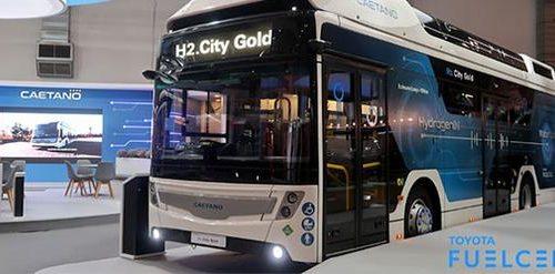 Caetanobus lancia il primo autobus a idrogeno
