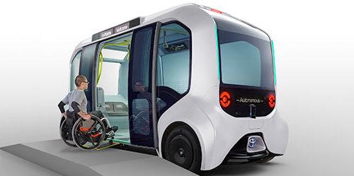 e-Palette Toyota per Tokyo 2020