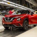 Nuovo Nissan Juke: inizia la produzione