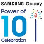 Samsung festeggia il decimo anniversario della famiglia Galaxy