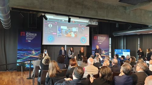 Presentata a Torino la prima rete live 5G Edge Cloud d'Europa con droni connessi