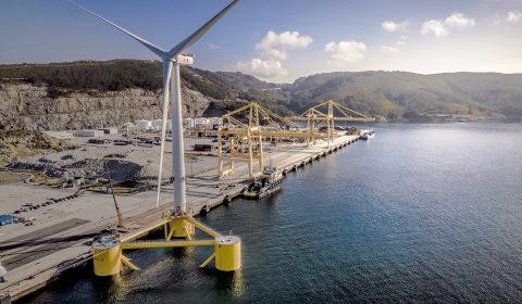 ABS effettua la classificazione della più grande turbina eolica galleggiante al mondo