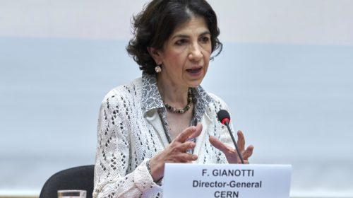 Fabiola Gianotti rieletta alla guida del CERN