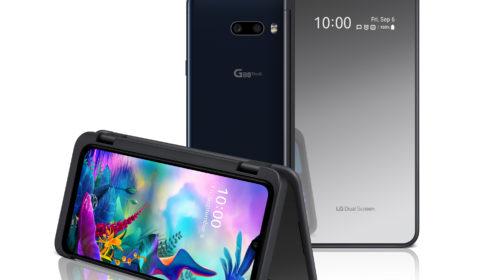 LG G8XThinQ con dual screen arriva in Italia
