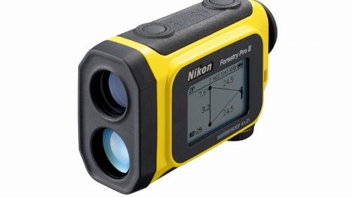 Nikon presenta il nuovo telemetro laser portatile Forestry Pro II