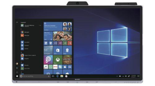 Sharp lancia sul mercato Windows Collaboration Display