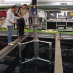 Energia elettrica dalle onde: il brevetto Windcity in prova all'Istituto francese del mare