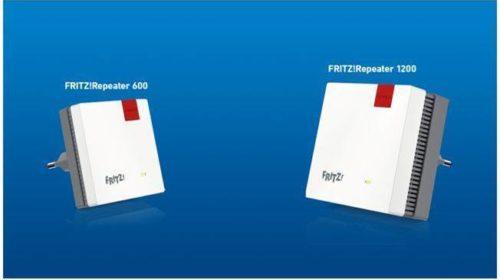 Due nuovi FRITZ!Repeater per connessioni nella rete Mesh