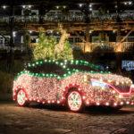 Nissan LEAF diventa Nissan TREE per elettrizzare il Natale