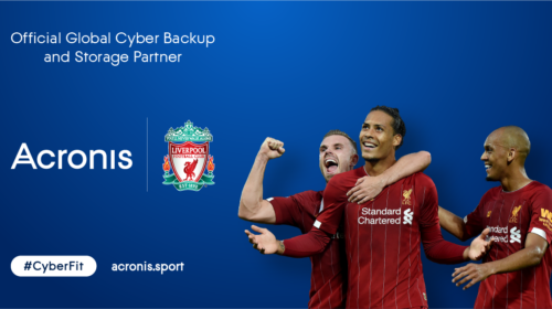 Partnership tra Liverpool Football Club e Acronis
