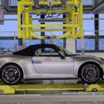 L'ultima Porsche 911 della generazione 991 esce dalla linea di produzione